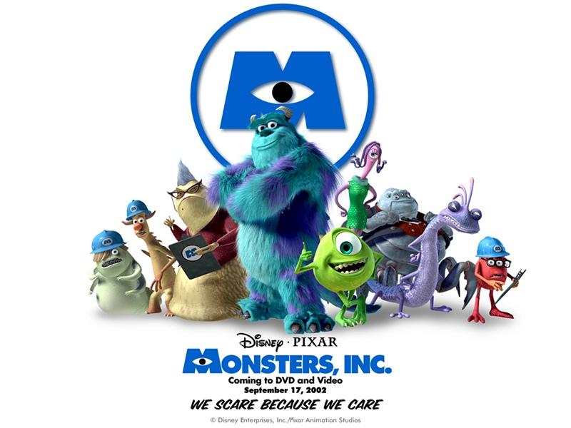 Monsters, Inc. poster animatedfilmreviews.filminspector.com
