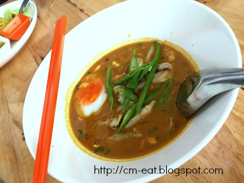 Chicken Curry Laksa - 45 baht