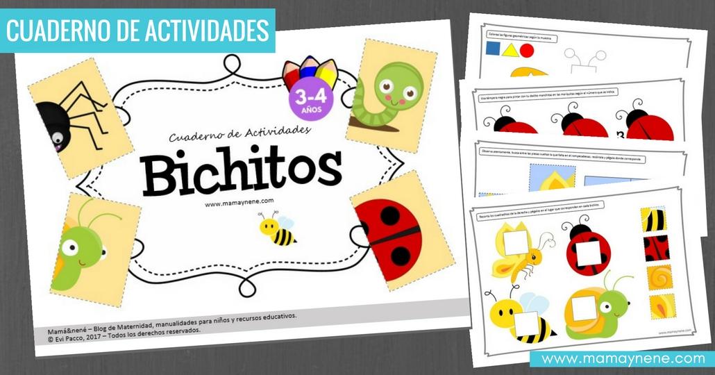 BICHITOS-FREEBIES-IMPRIMIBLES-MOTRICIDAD-FINA-PREESCOLAR-NIÑOS-MAMAYNENE-BLOG-MATERNIDAD