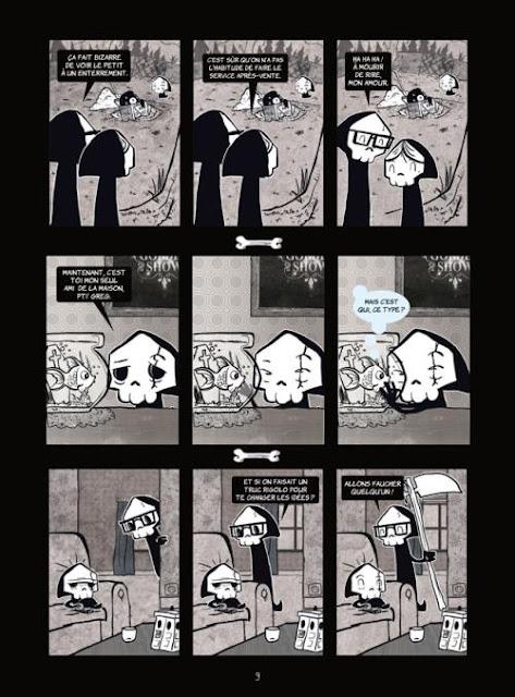 La petite mort (tome 1,2,3) de Davy Mourier planche 1