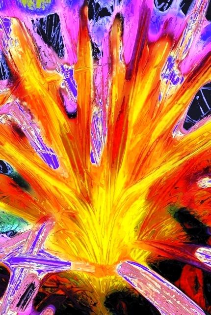 Roswila S Tarot Gallery Journal: Roswila's Dream & Poetry Realm: SUDDEN FIRE (photomorph