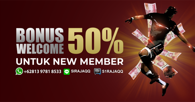 Bonus Welcome 50% Khusus Sportsbook