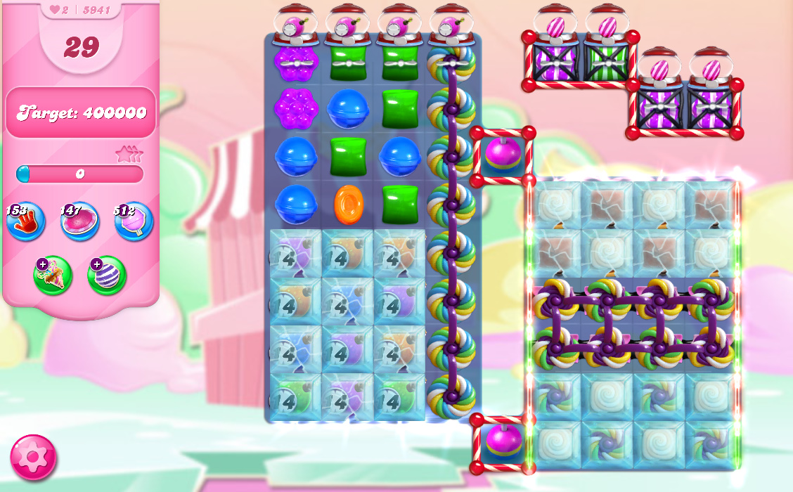 Candy Crush Saga level 5941