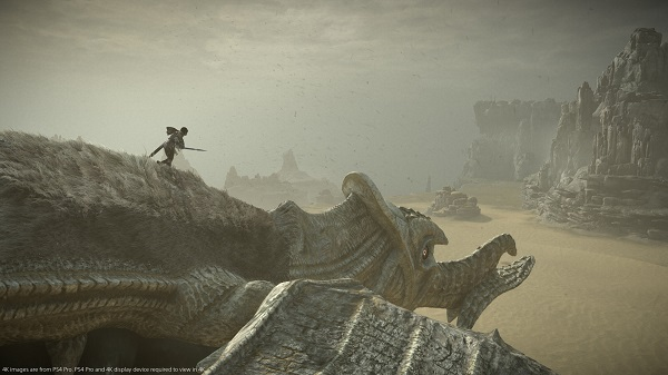PS2 remake: Jogo Shadow of Colossus no PS4