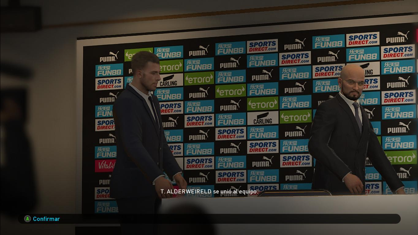 PES 2019 Newcastle United Press Room by Ivankr Pulquero