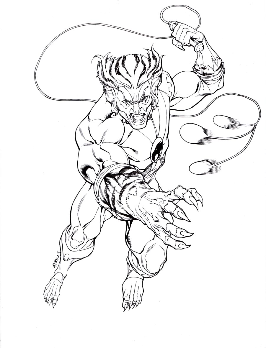 cheetara thundercats coloring pages - photo#11