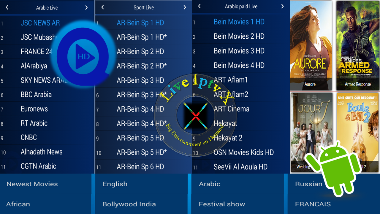 q hd 2 5 1 41 iptv apk for premium live tv on android live iptv x