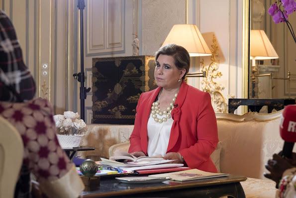 Grand Duchess Maria Teresa of Luxembourg, Aissatou (Aminatou Ahidjo), Enlevee par Boko Haram Nigerian author Mina Kaci, Unesco