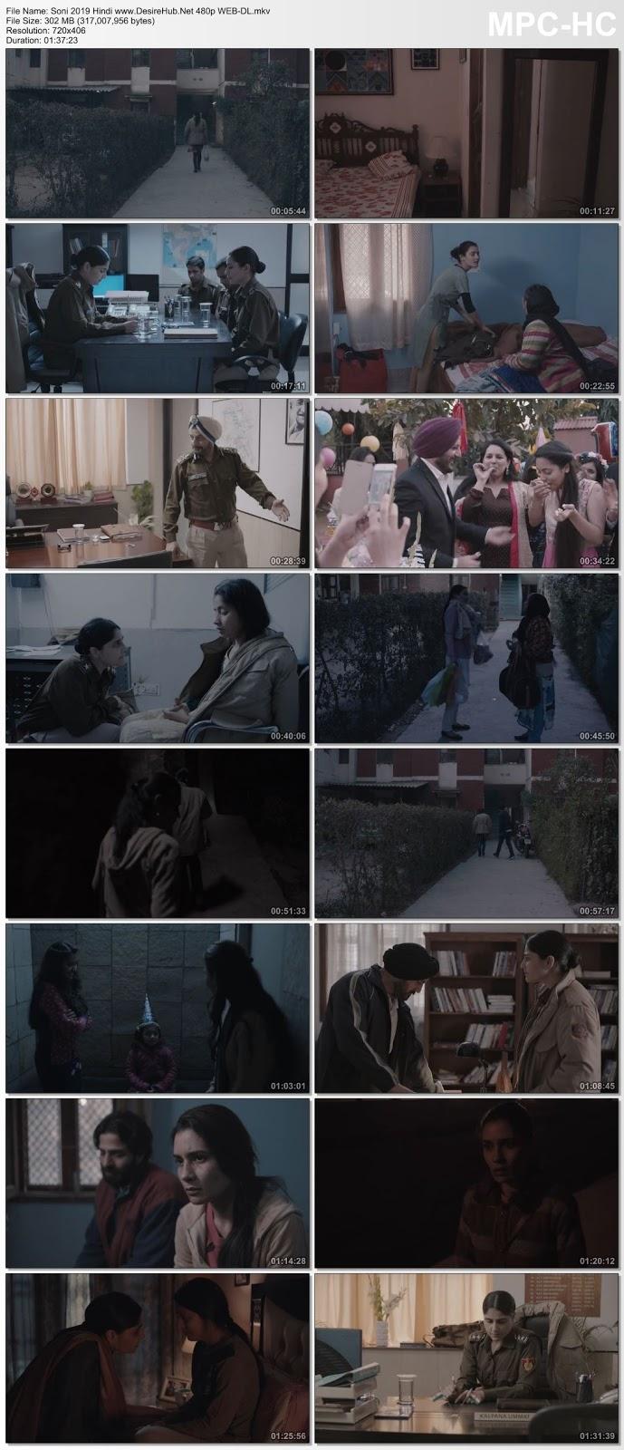 Soni 2019 Hindi 480p WEB-DL 300MB Desirehub