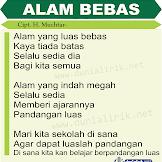 Lagu Pramuka ALAM BEBAS (Lirik dan Download Mp3)