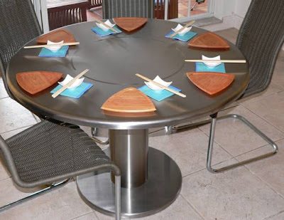 Modern and Innovative Integrated Dining Tables (15) 10