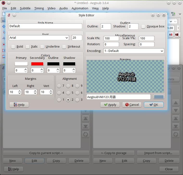 xuctarine: How to make screencast on Ubuntu 14 04