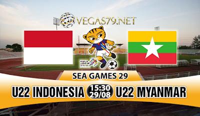 Nhận định, soi kèo nhà cái U22 Indonesia vs U22 Myanmar