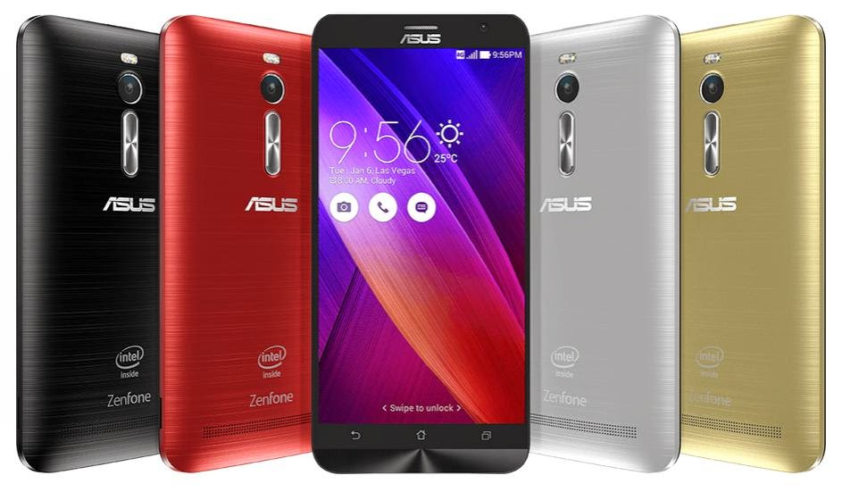 ASUS Announced ZenFone 2 with 64-bit Intel Atom CPU and 4GB RAM