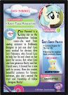 My Little Pony Coco Pommel Series 3 Trading Card