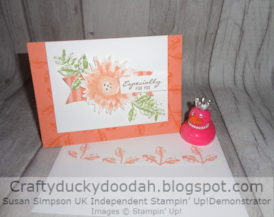 Craftyduckydoodah!, Painted Harvest, August 2017 Challenge, Stampin' Up! UK Independent  Demonstrator Susan Simpson, Supplies available 24/7 from my online store,