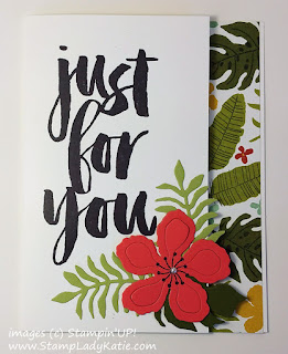 Card made with Stampin'UP!'s Botanical Blooms Bundle