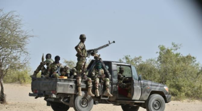 A counter-offensive spearheaded by Nigeria since January last year has recaptured swathes of territory lost to Boko Haram in 2014. By Issouf Sanogo (AFP/File) Lagos - Nigerian troops have thwarted a Boko Haram attack in the country's volatile northeast, killing 16 insurgents while 12 soldiers were wounded, an army spokesman said Monday.