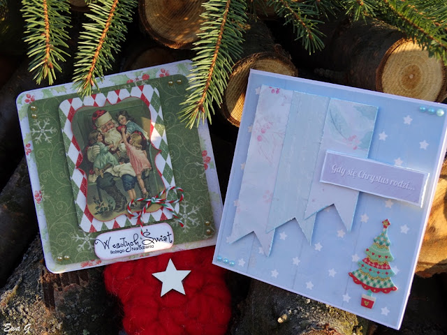 Styczniowe kartki bożonarodzeniowe
