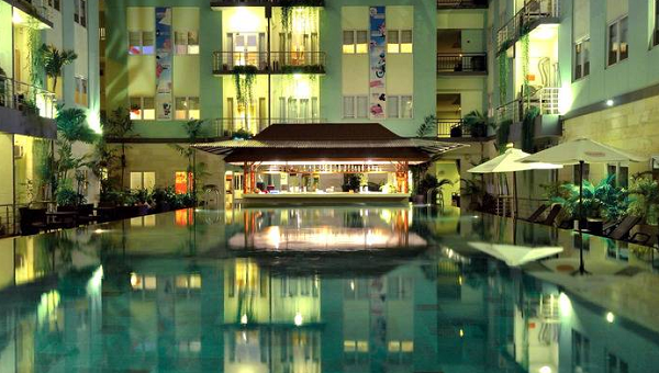Hotel Bali Diskon HARRIS and Residences Riverview Kuta Mulai 400 Ribuan