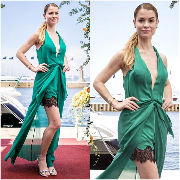 vestido noiva verde diana rock story
