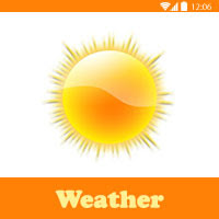 تحميل تطبيق طقس و درجة حرارة download weather free
