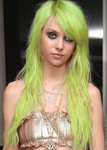 cabelos verdes