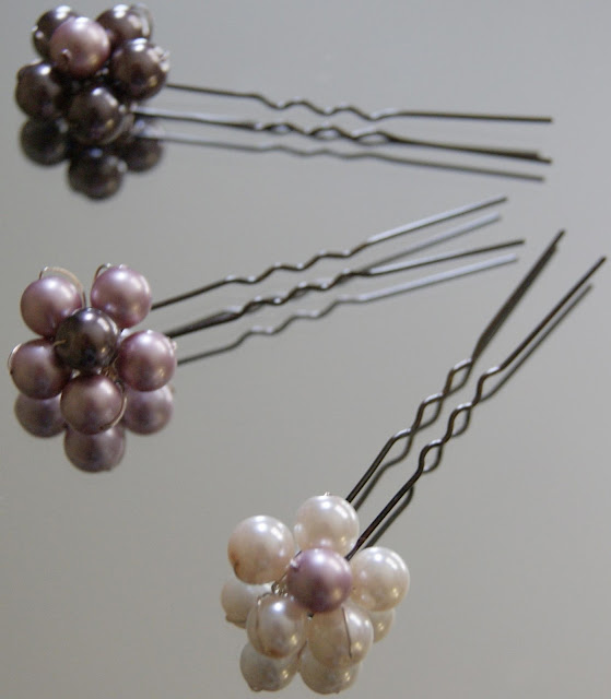 Decorative Pearl Pins - Different Types of Hair Clips and Pins