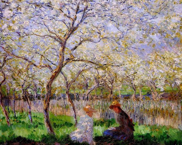 Άνοιξη, πίνακας του Κλωντ Μονέ - Claude Monet, Springtime painting, 1886