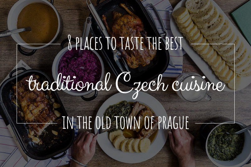 8 places to taste the best traditional czech cuisine in the old town first time in prague and want to taste the best svkov pork knuckle beef goulash steak tartare pork schnitzel roast duck or traditional czech pork forumfinder Images