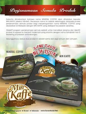 Min Kaffe Mineral Coffee