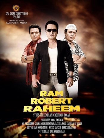 Ram Robert Raheem 2016 Hindi 480p HDRip 350mb