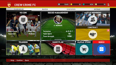 Kerak PES 2016 V1.5 untuk Main Online