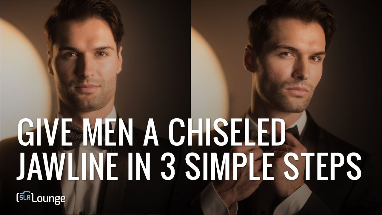Give Men A Chiseled Jawline In 3 Simple Steps