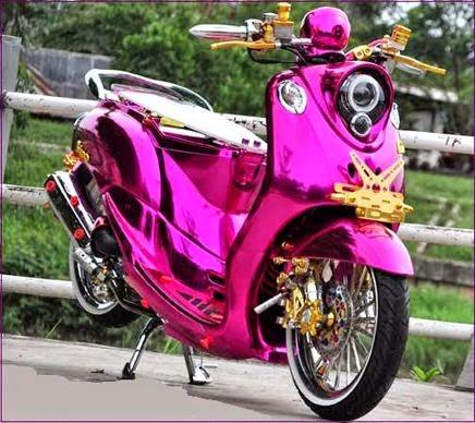 Modifikasi Motor Yamaha Fino