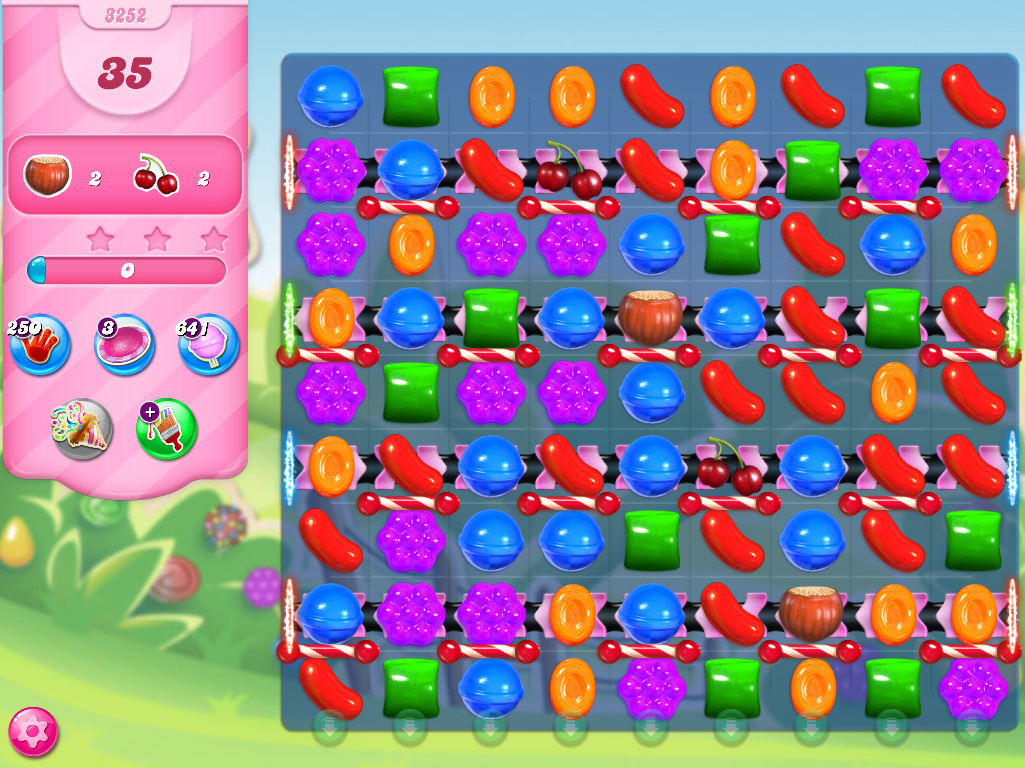 Candy Crush Saga level 3252