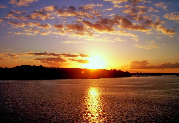 Beautiful Sunset Landscape Wallpapers - Mobile