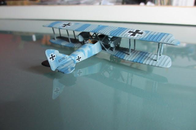 1/144 Aeg G.IV diecast aircraft