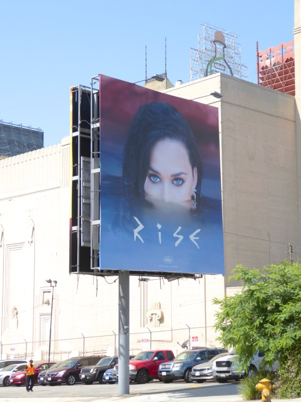 Katy Perry Rise billboard