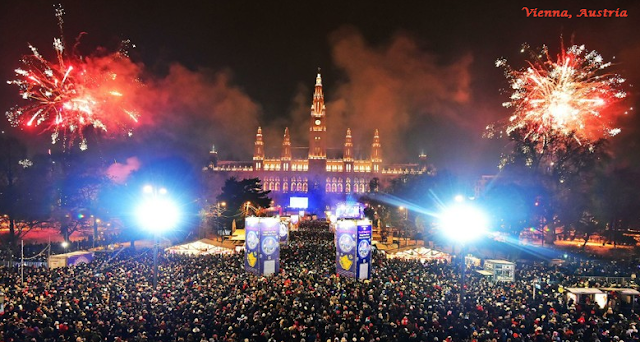 Vienna on New Year's Eve