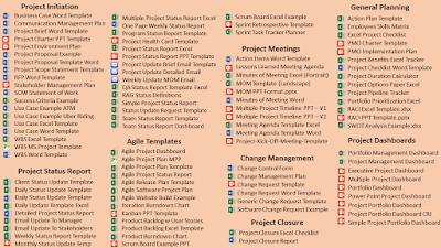 Project Management Templates