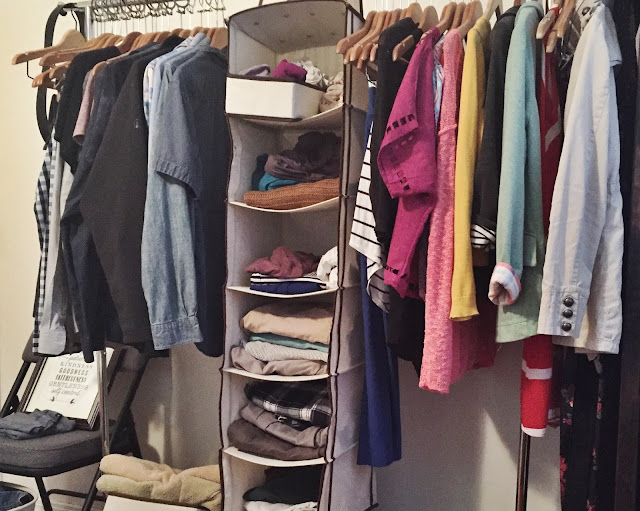 KonMari Closet After Photo