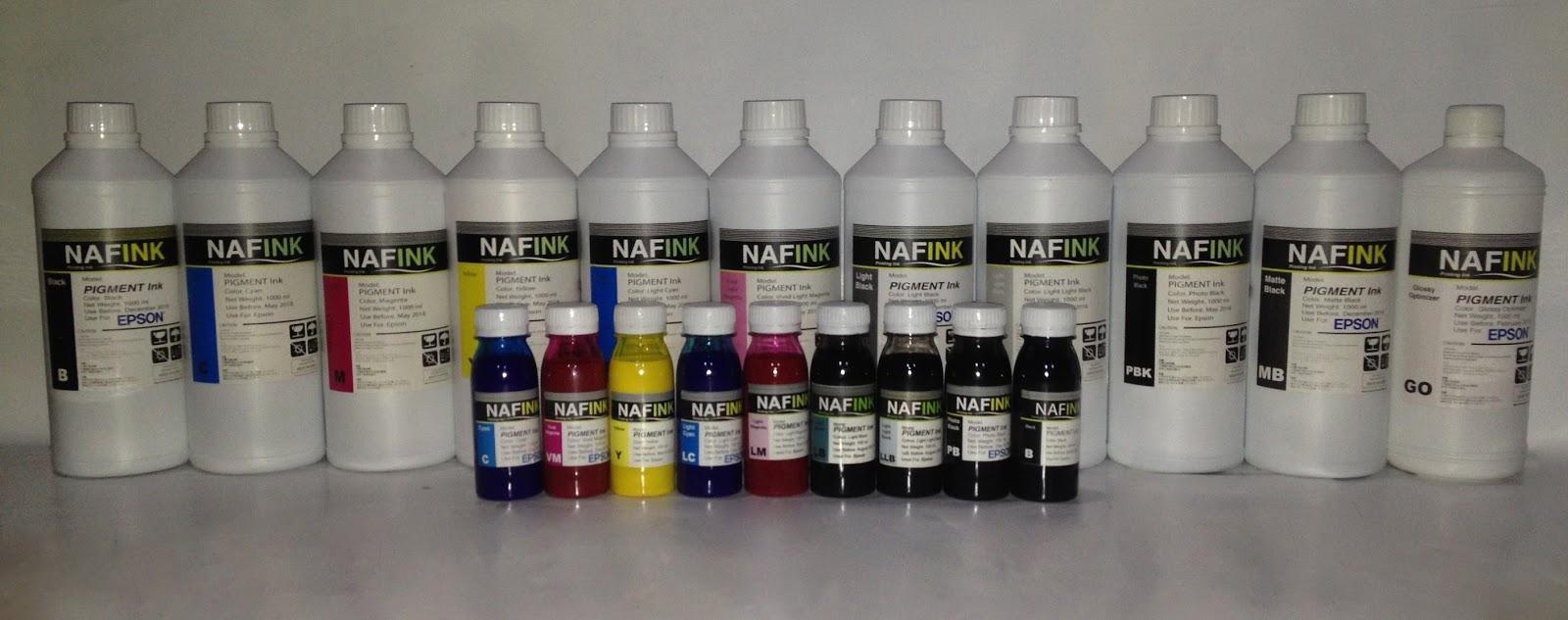 Jual Tinta Pigment Epson Canon Dan Hp Merek Naf Ink Kualitas Head Ix6560 Bagus Terbaik Harga Murah Bersaing Bersahabat Grosir