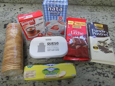 Tarta de queso y chocolate (Sin horno) Thermomix