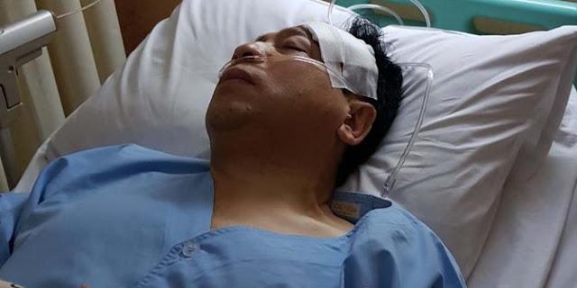 Ini Yang Terjadi Saat Di RS Medika Setelah Kecelakaan Nabrak Tiang, Setnov Minta Kepalanya Di Perban Lalu....