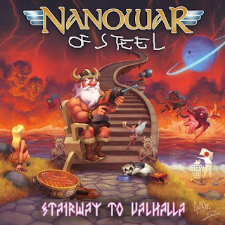 "Το βίντεο των Nanowar Of Steel για το ""And Then I Noticed That She Was a Gargoyle"" από το album ""Stairway to Valhalla"""