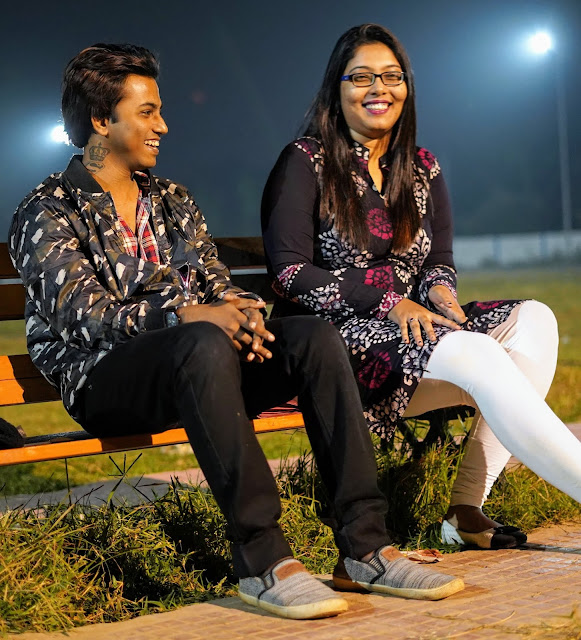 Sourajit Saha With Arunima 4