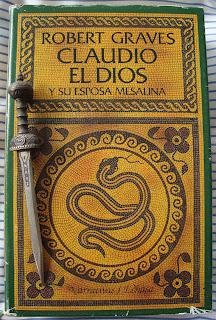Portada del libro Claudio el dios y su esposa Mesalina, de Robert Graves