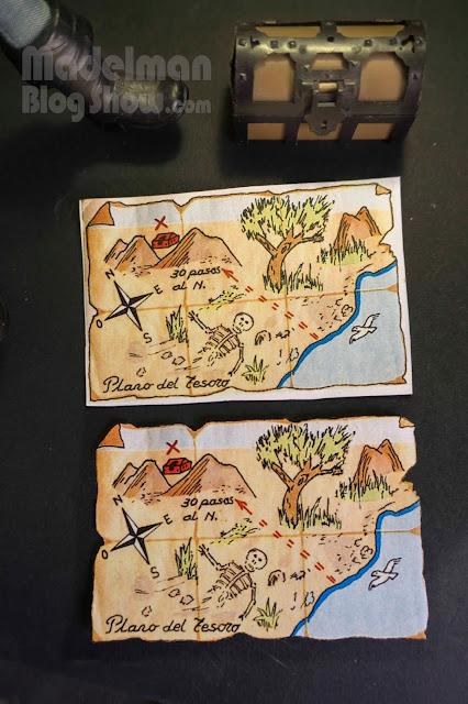 Plano del tesoro Madelman