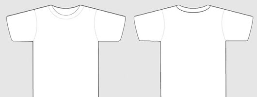 Costumable T Shirt Template